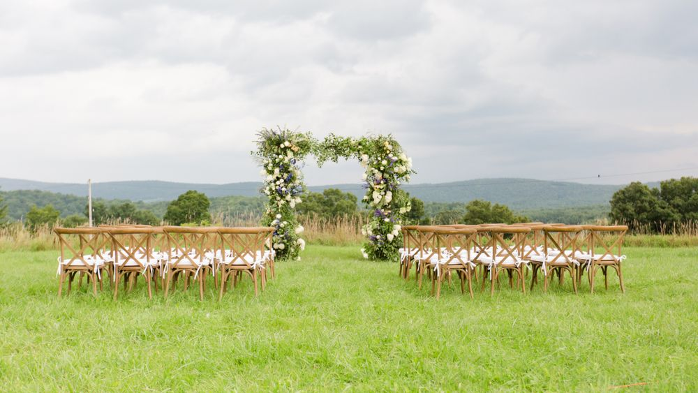 Credits: Tricia McCormack Photography, Something Pretty Events, Bridlewood Blooms, Bridal Corner, New Moon Beauty Studio, Whispering Woods Candles, Mahaiwe Tent, Columbia Tent Rentals