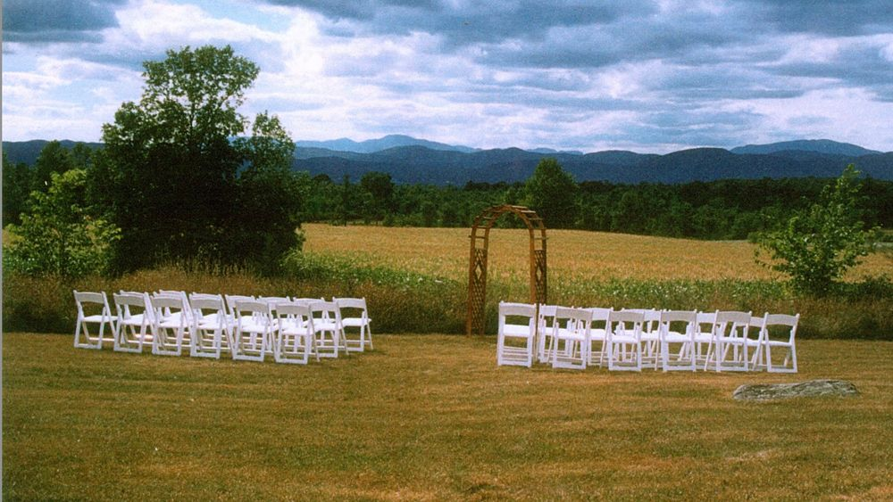 Pre-Ceremony with Cornfield and Westerly Views