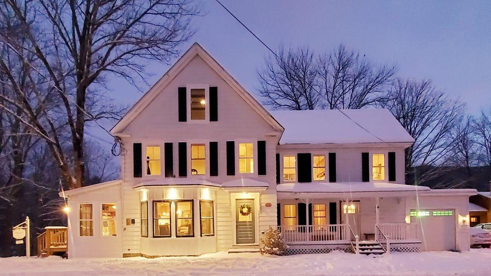 Timeless New England Farmhouse Charm