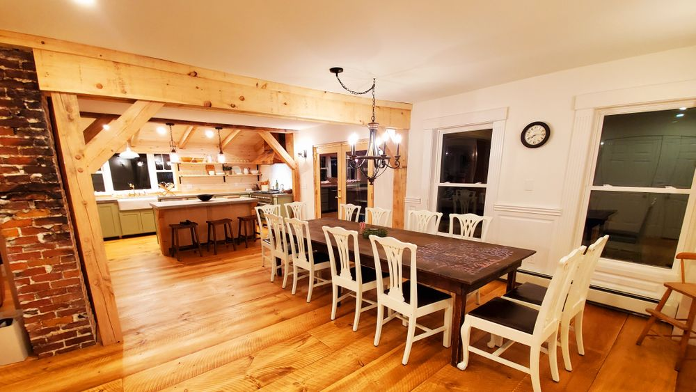 Large open concept Kitchen, Living and Dining rooms make the perfect gathering space.