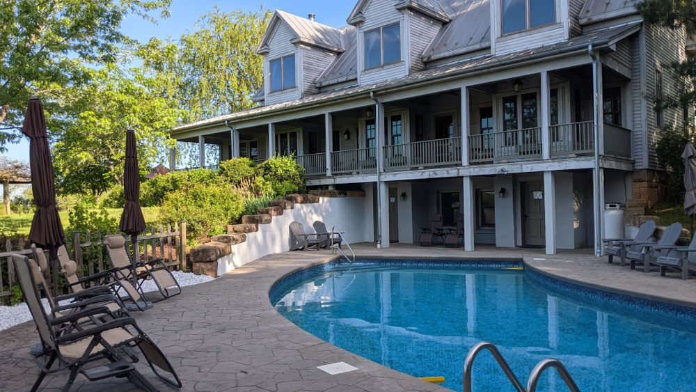Outdoor seasonal pool available May-October