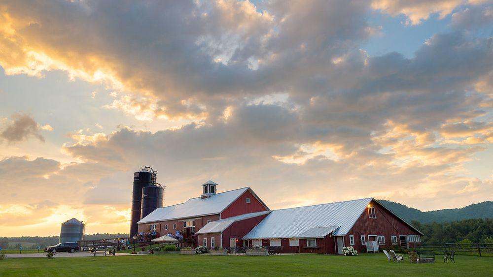 Early evening skies at Boyden Farm. photo credit: Lauri Boyden
