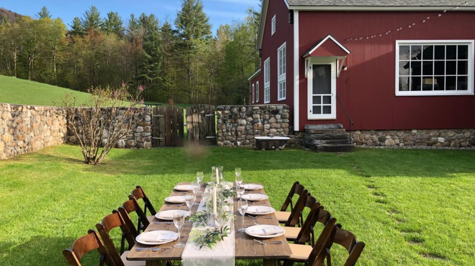 Vermont Barn Wedding