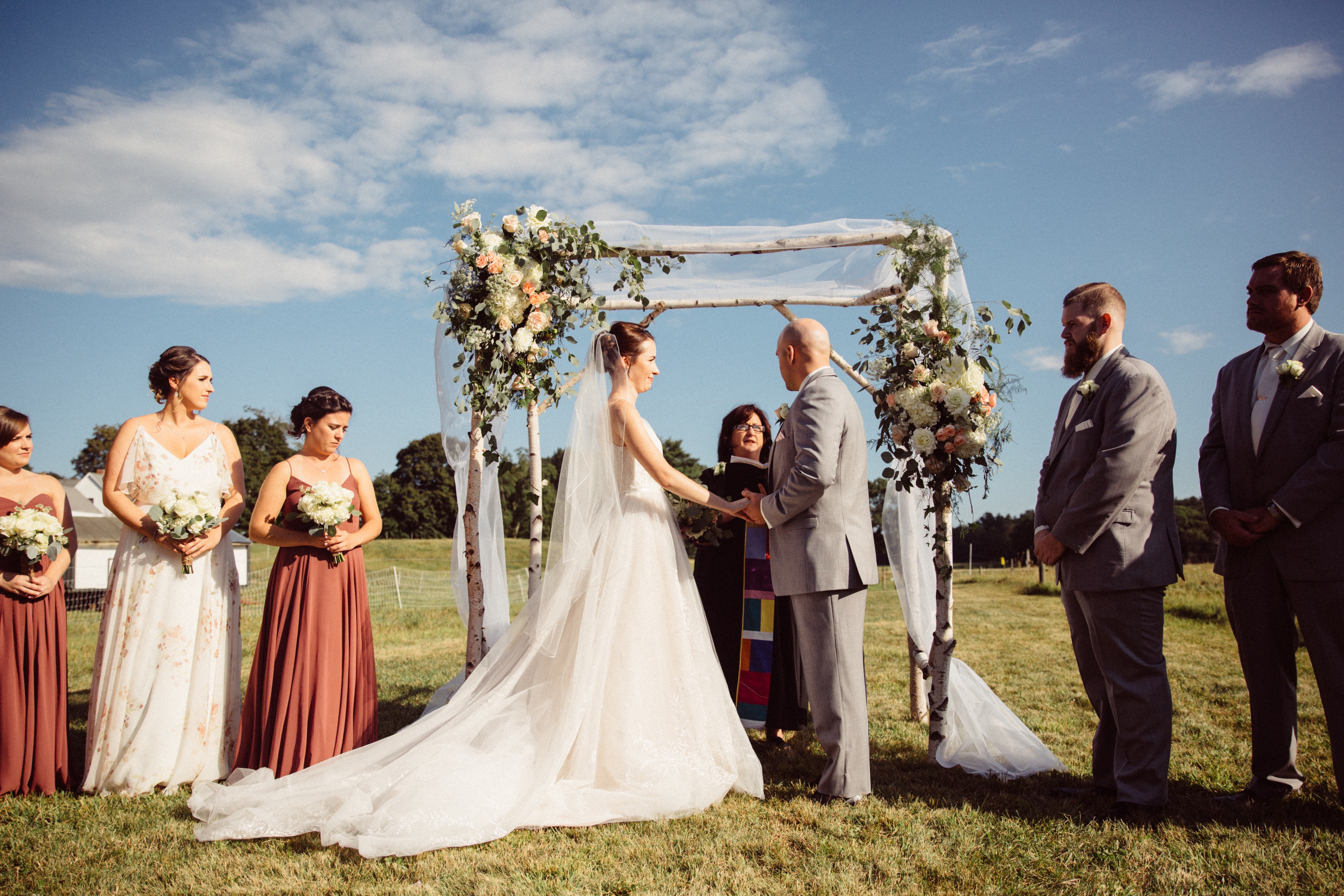 Appleton Farm Wedding Ceremony