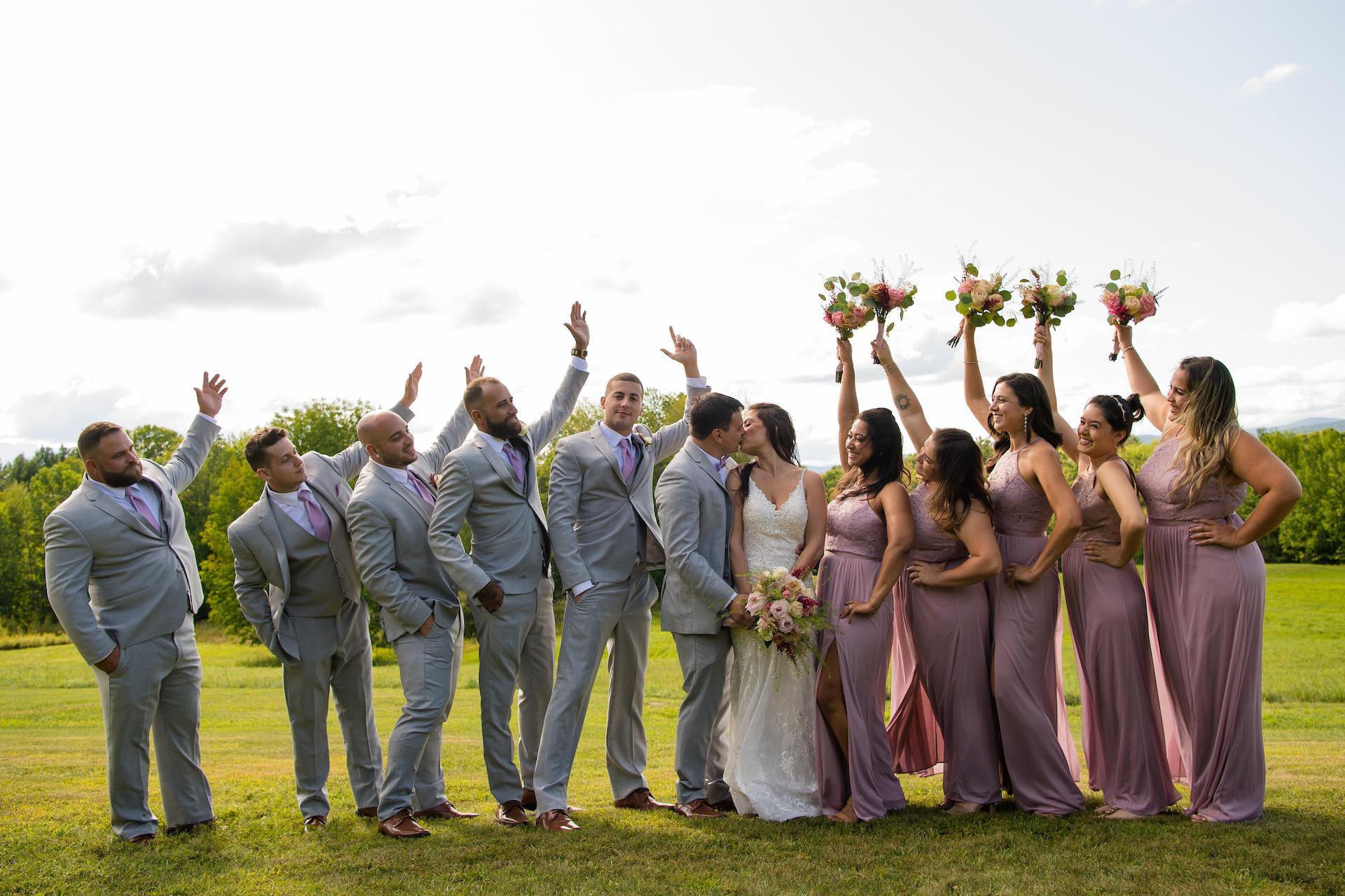 Vermont Mountain View Wedding