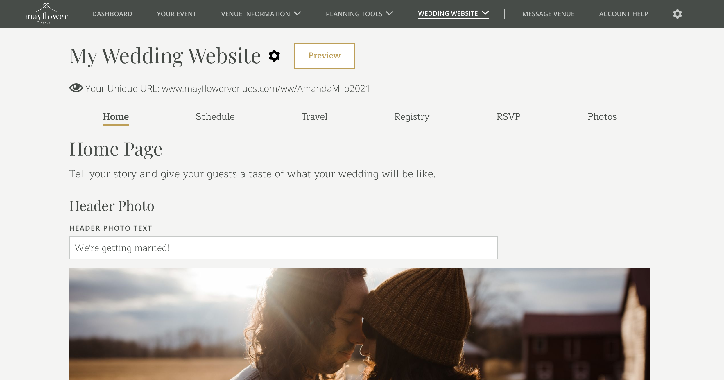 Custom-wedding-website