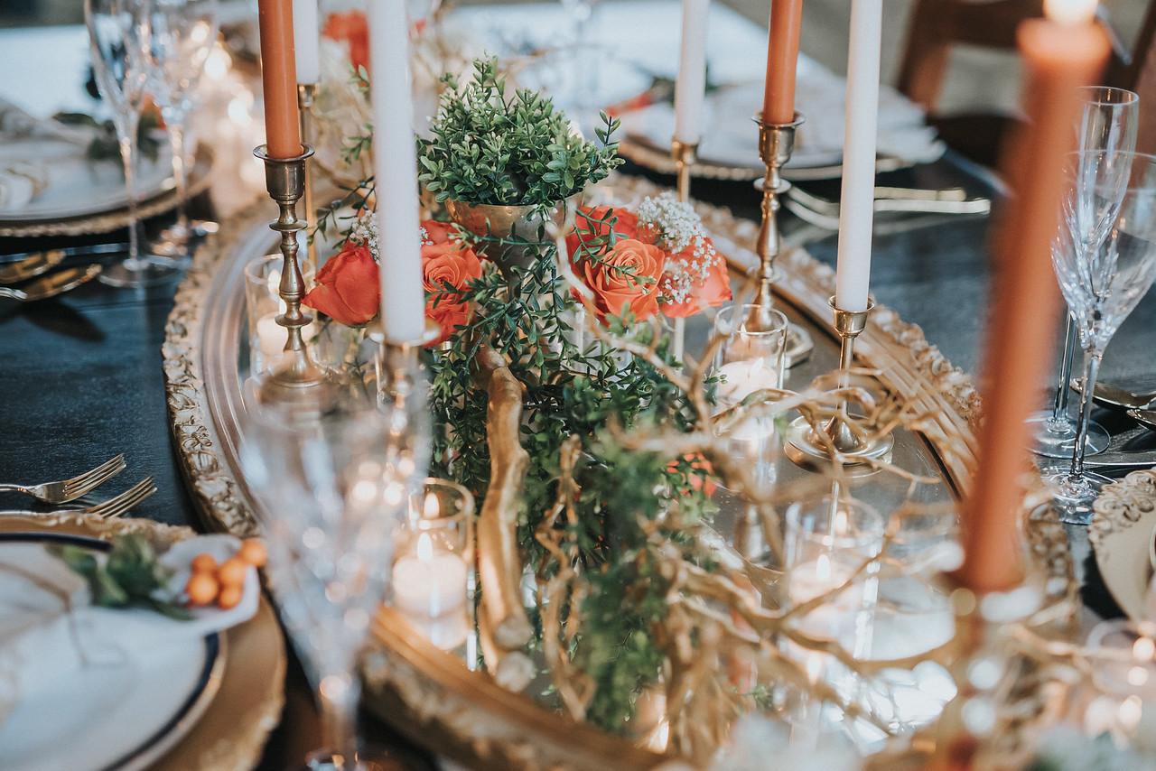 Fall Inspired Center Pieces
