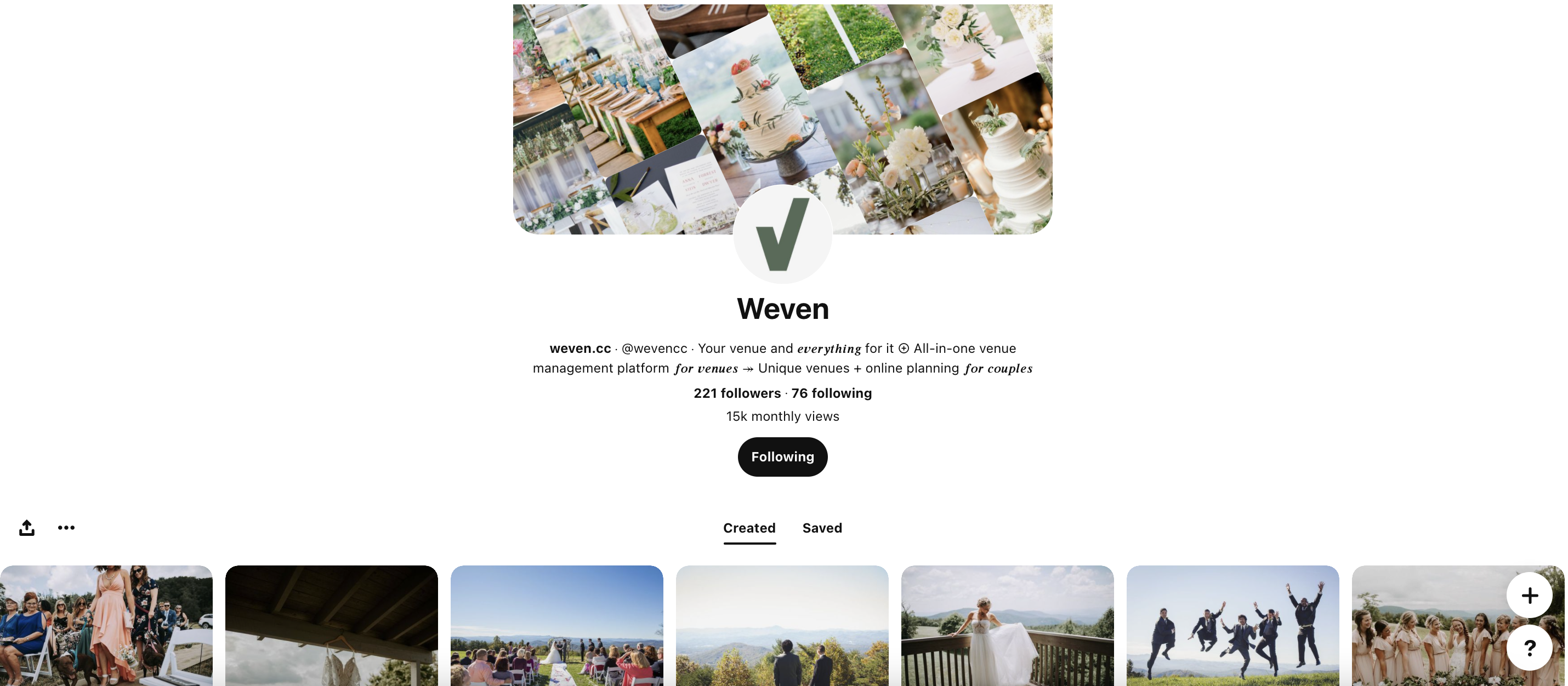 Weven Pinterest